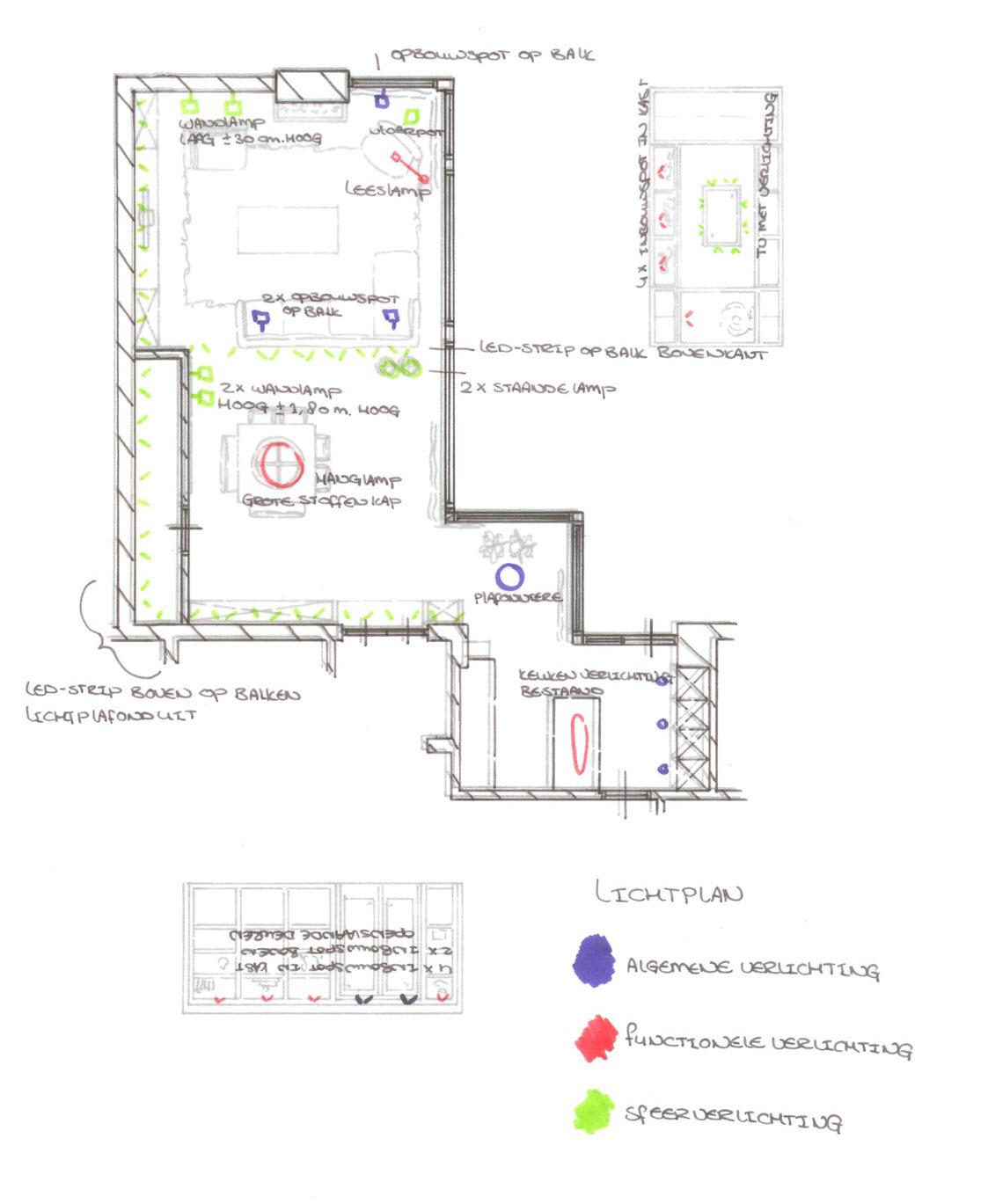 Mevr. uit de Bosch Ermelo Lichtplan 001